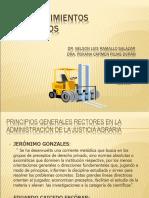 principios en materia agraria