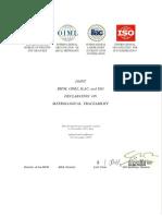 BIPM-OIML-ILAC-ISO joint declaration 2018