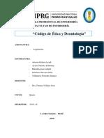 Código de Ética y Deontología Word