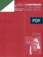 Gilles Deleuze - Curso sobre Foucault. Tomo III - La subjetivación.pdf