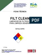 Filt Clean Limpiador