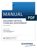 HCTA Test Manual