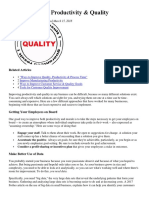 How to Improve Productivity.docx