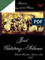 Jose Gutierrez-Solana - Ramon Gomez de La Serna