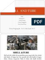 Ppt shell and tube