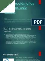 Introducción a Los Servicios Web RESTful
