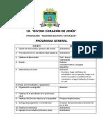 Programa General de Promocion
