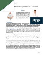 Multimodal, Stochastic Symmetries for E-Commerce