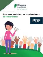 Guia Para Participar en Las Elecciones en Lectura Facil