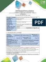 Guía de Actividades y Rúbrica de Evaluación - Paso 3 - Indagación.