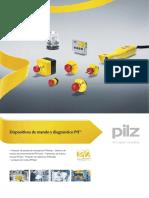 Dispositivos de accionamiento Pilz