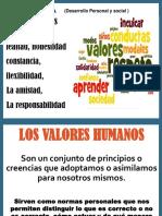 LOS VALORES H