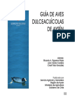 Guía de Aves dulceacuícolas de Aysén