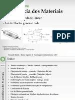 RM Aulas2.2 Lei de Hooke Generalizada