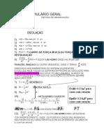 Formulário Geral P1 Física III