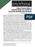 2010 Carina Guimaraes Cultura Popular Negra Analisis de Zumbi