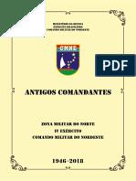 Biografia Comandantes do Exército