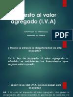 inpuesto del valor (I.V.A)