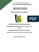 Informe de Practicas Rosa Lizeth Ormeño Cabezudo 2018