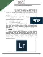 Módulo 3 - Clase 5 - Introducción a La Post-producción