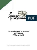 Acordes - Violão