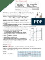 Mo,n Control Controle 1 . 1 S1 2 Bac FR(Www.adrarPhysic.fr)