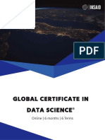 INSAID Global Certificate in Data Science