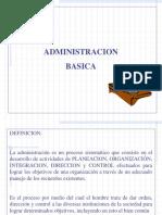[PD] Presentaciones - Administracion Basica