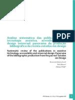 Análise Sistemática Das Publicações Em Tecnologia Assistiva...