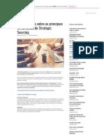Conheça Mais Sobre as Principais Ferramentas Do Strategic Sourcing