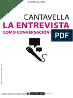 No Cantavella-Entrevista Como Conversación Dirigida