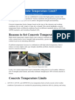 What is Concrete Temperature Limit.docx