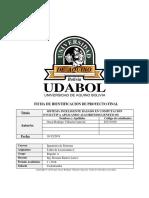 Proyecto Final Taller de Licenciatura I