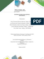 Informe de Práctica de Laboratorio - Química Inorgánica