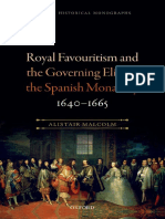 Malcolm, Alistair - Royal Favouritism and the Governing Elite of the Spanish Monarchy, 1640-1665-Oxford University Press (2017)