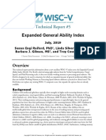 Wisc V General Ability Index