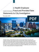 APH Fraud Report