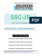 SSC JE Study Materials Estimation & Costing