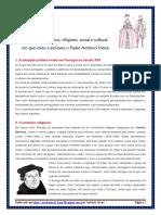 Padre António Vieira - Contexto Social, Político e Cultural (Blog11 11-12)