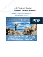 Programa 5to Congreso Internacional de Psicoterapia Cognitivo Conductual (1)