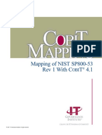 Mapping CobiT Nist 800-53