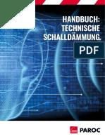 Paroc Brochure Technical Insulation Acoustic Manual De