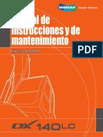 DX140LC Manual de Operación y Mantenimiento