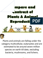 Animals and Plant Reproduction
