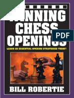 Ganando Winning Chess Openings - Bill Robertie