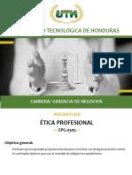 Modulo III Etica Profesional