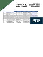 La Interfaz de Excel