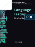 Mcnamara Tim Language Testing