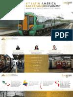 4° Congreso Latinoamericano de Expansión Ferroviaria