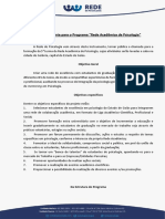 VI Processo Seletivo Rede Academica de Psicologia